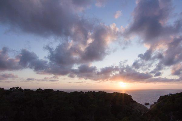 Sonnenuntergangsblick